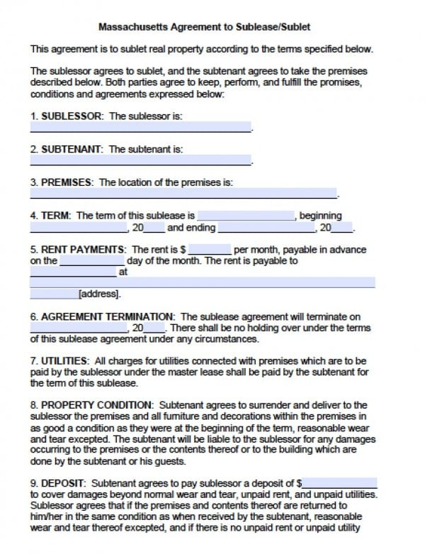 Roommate Agreement Form College Roommate Agreement Form  Sample