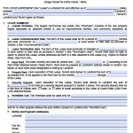 Single Tenant (PDF/Word)